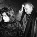 Film- Roma- con Anna Magnani e Federico Fellini