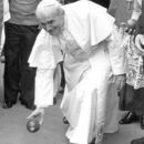 GIOVANNI PAOLO II SAN SABA GIOCA marzo 81